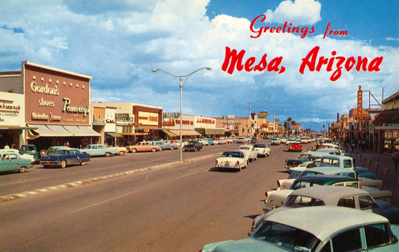 The Funset Strip Greetings From Mesa Arizona