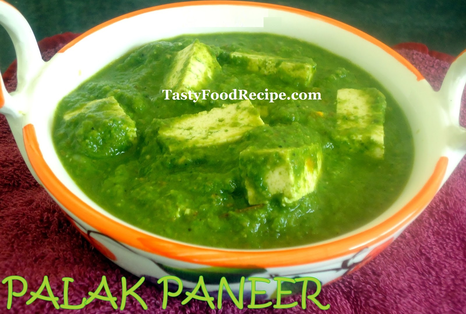 Palak paneer sabji recipes shahi palak paneer healthy life i always boiling palak very well and i never get the rich green colorthen i came to know palak shouldt over cook while watching master chef india and try forumfinder Images