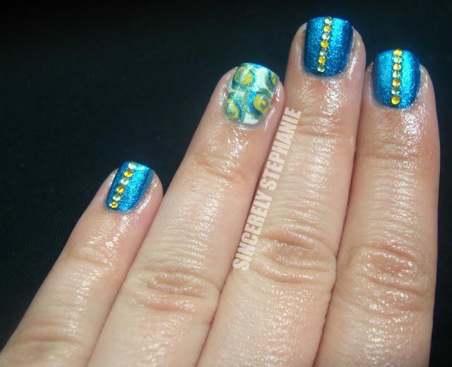 peacock-nail-art