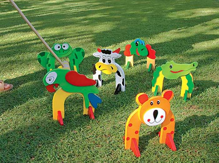 Playground Toys For Toddlers : Garden decor toys for kids