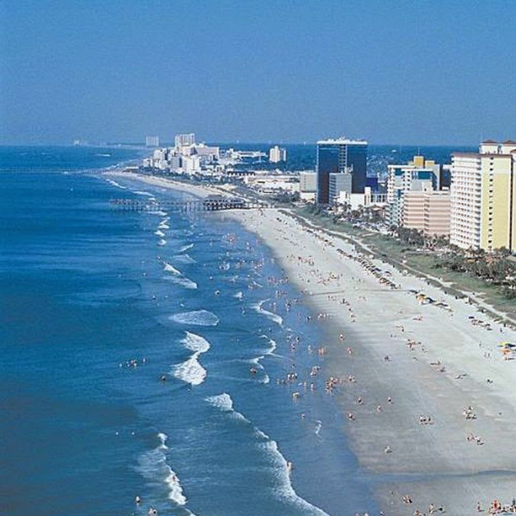 Best Beach Spots In Myrtle Beach