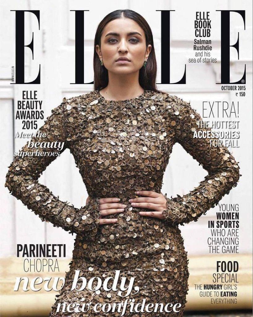 Parineeti chopra on elle magazine gregorian calendar month for Elle magazine this month
