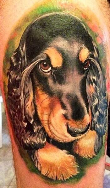The Best Dog Tattoos (Gallery 5)