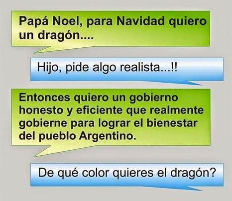 Papa Noel quiero dragon