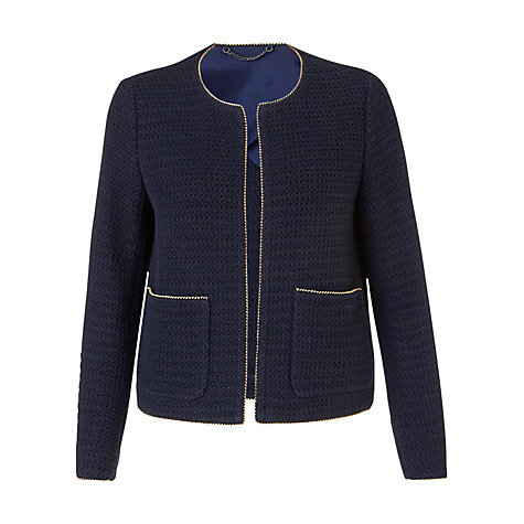 Jigsaw Textured Cotton Jacket