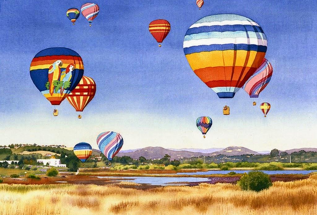 pinturas-paisajes-con-globos