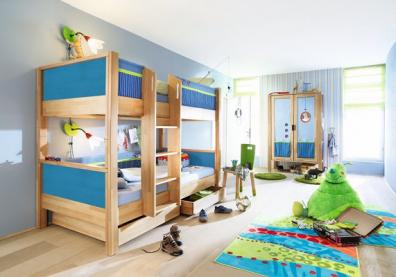 Muebles y decoraci n de interiores camas literas alemanas - Camas literas modernas ...