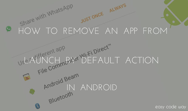 Remove Default Apps from Android
