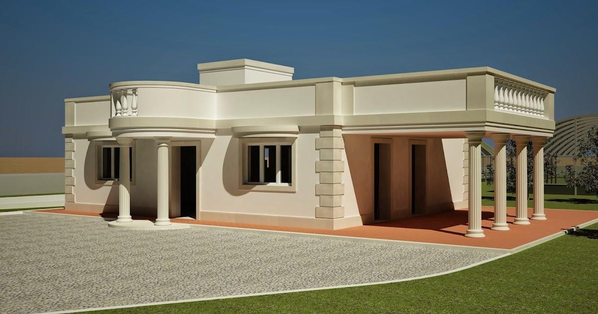Raffaele ruggieri architetto villa in stile greco romano for Design in stile romano