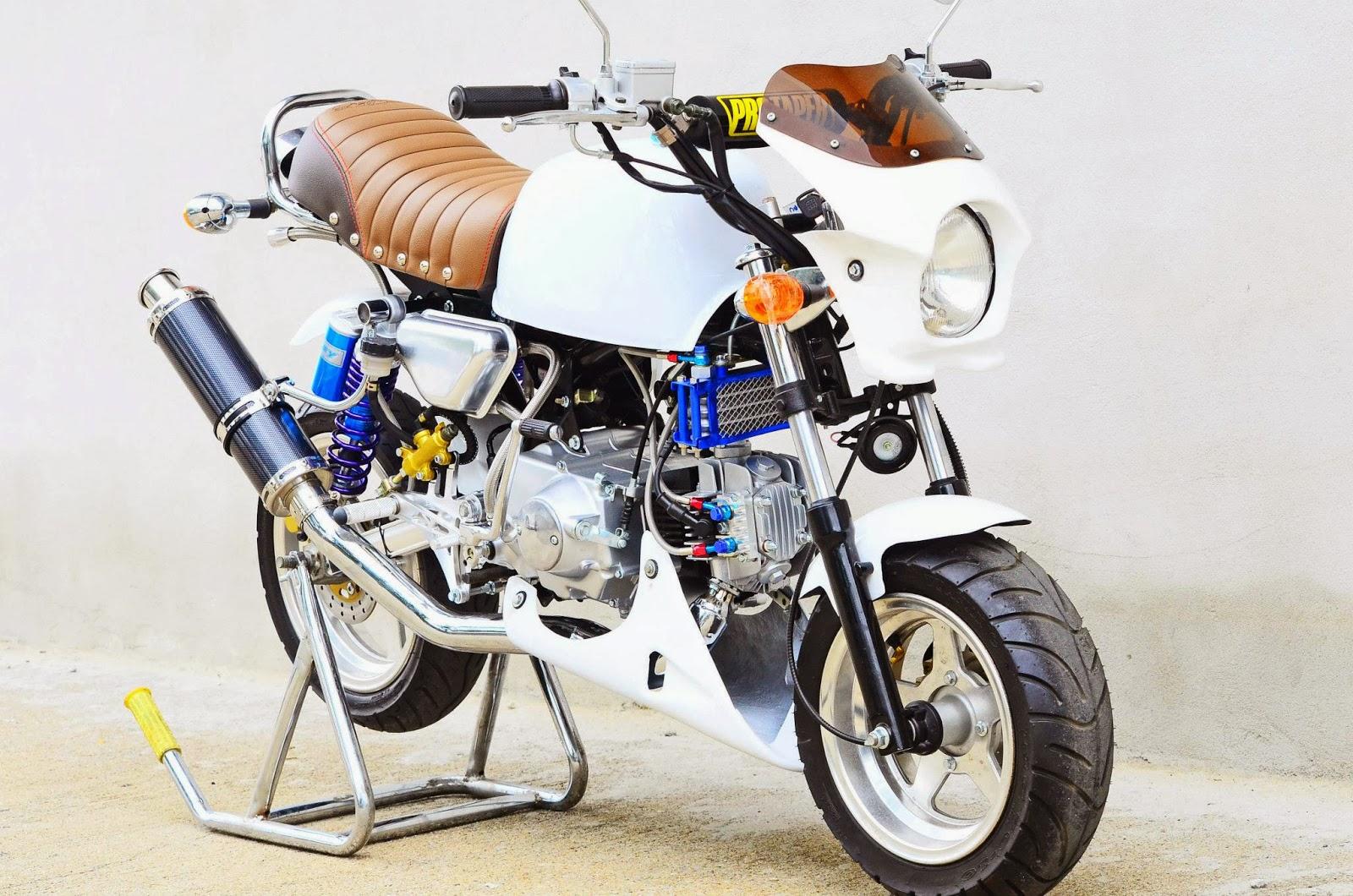 Racing Caf U00e8  Honda Gorilla  U0026quot Rs94 U0026quot  By Lp Monkeyshop