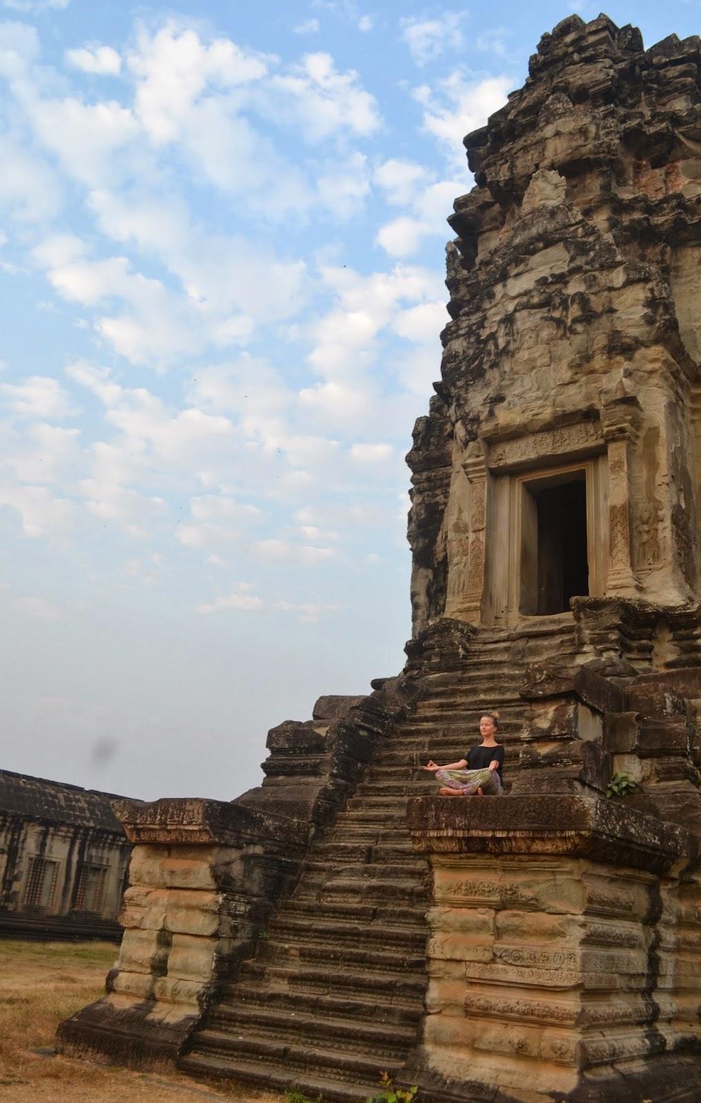 Angkor Wat temple siem reap cambodia