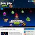 Thêm mẫu template Angry Birds Space đẹp cho blog