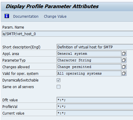 How to perform mail configuration in sap auto id solutions in the above example value is set for both host and port fandeluxe Images