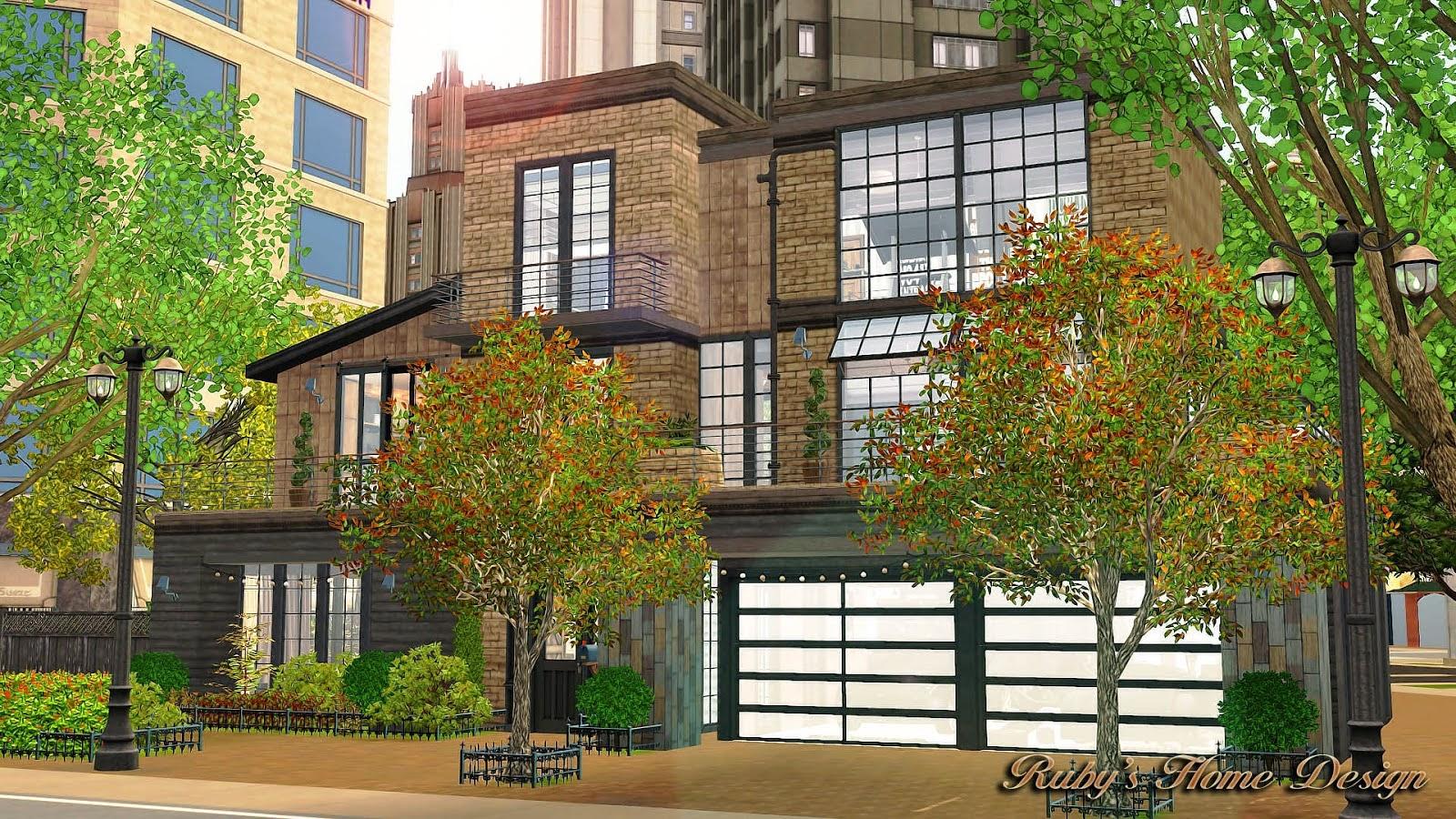 Sims 3 lot