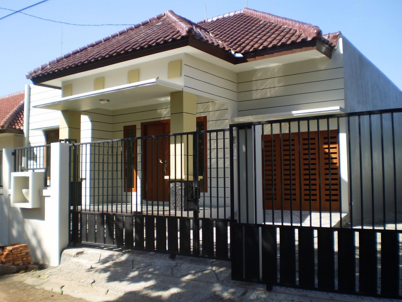 11 contoh gambar pagar untuk rumah minimalis gambar