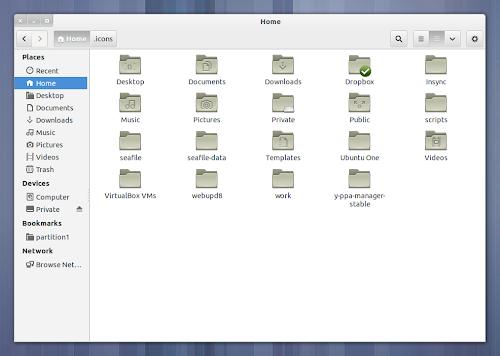 gnome 3.6 folder icons