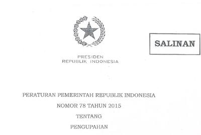 PP 78 Tahun 2015