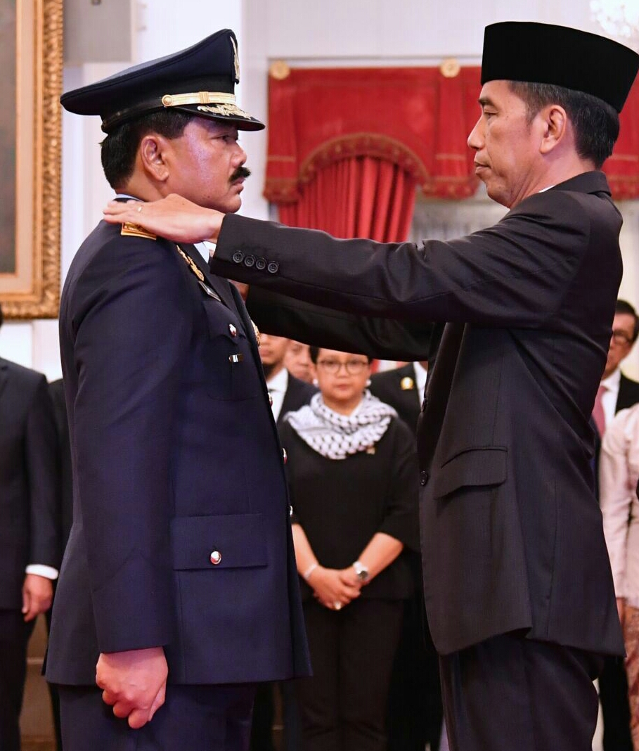 Marsekal Hadi Tjahjanto Resmi Jadi Panglima TNI Gantikan Jenderal Gatot Nurmantyo