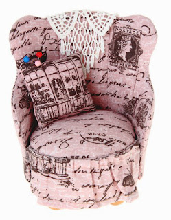 RTO. Винтаж. Старинное кресло и ножницы