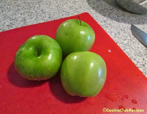 tart granny smith green apples