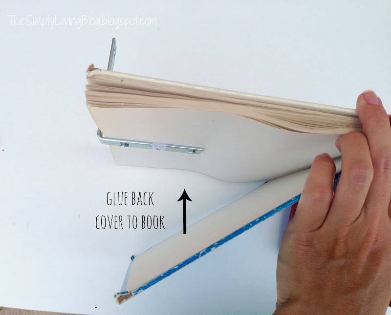 DIY Floating Shelf Brackets