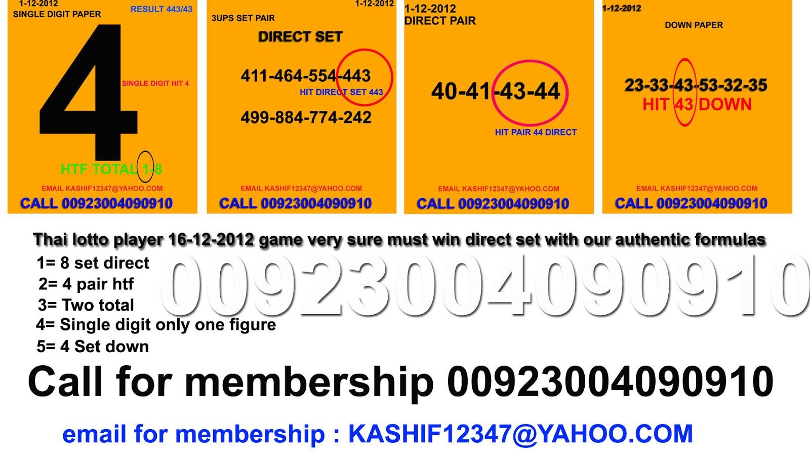 Lottery win 1 2 3 4 5 6