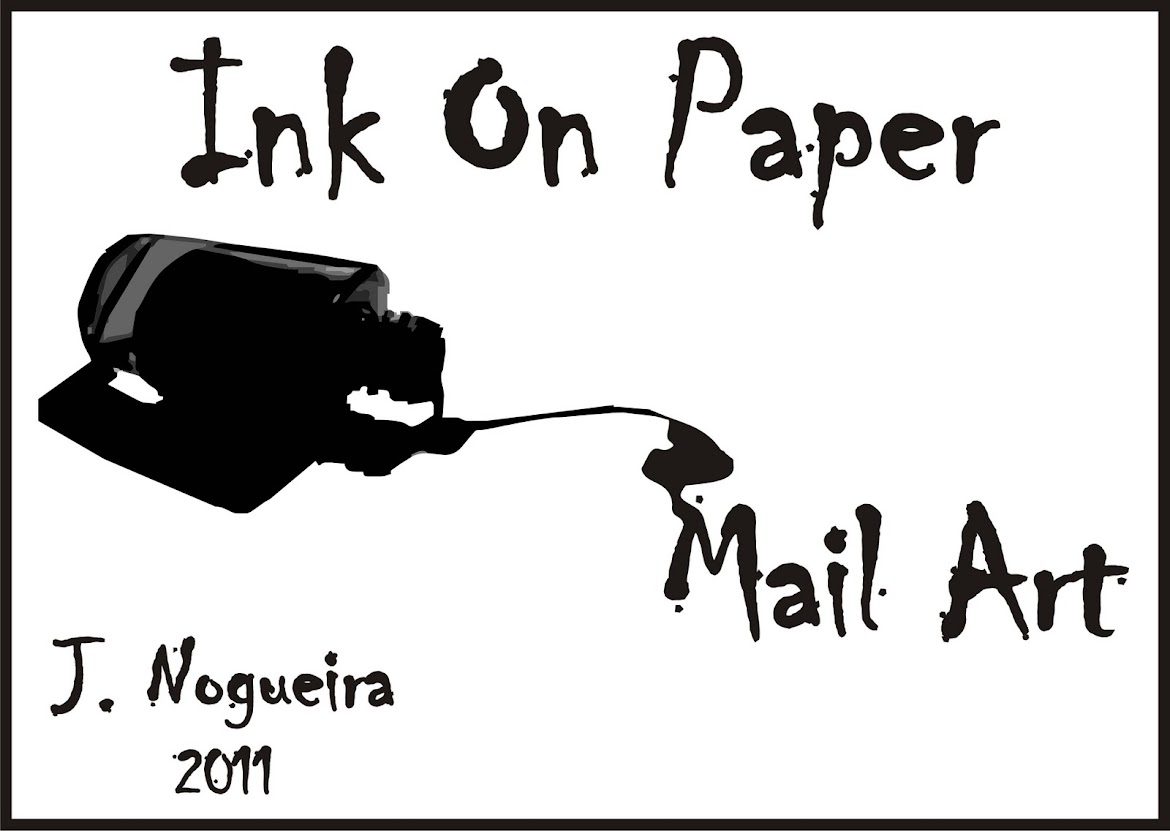 Ink On Paper Mail Art