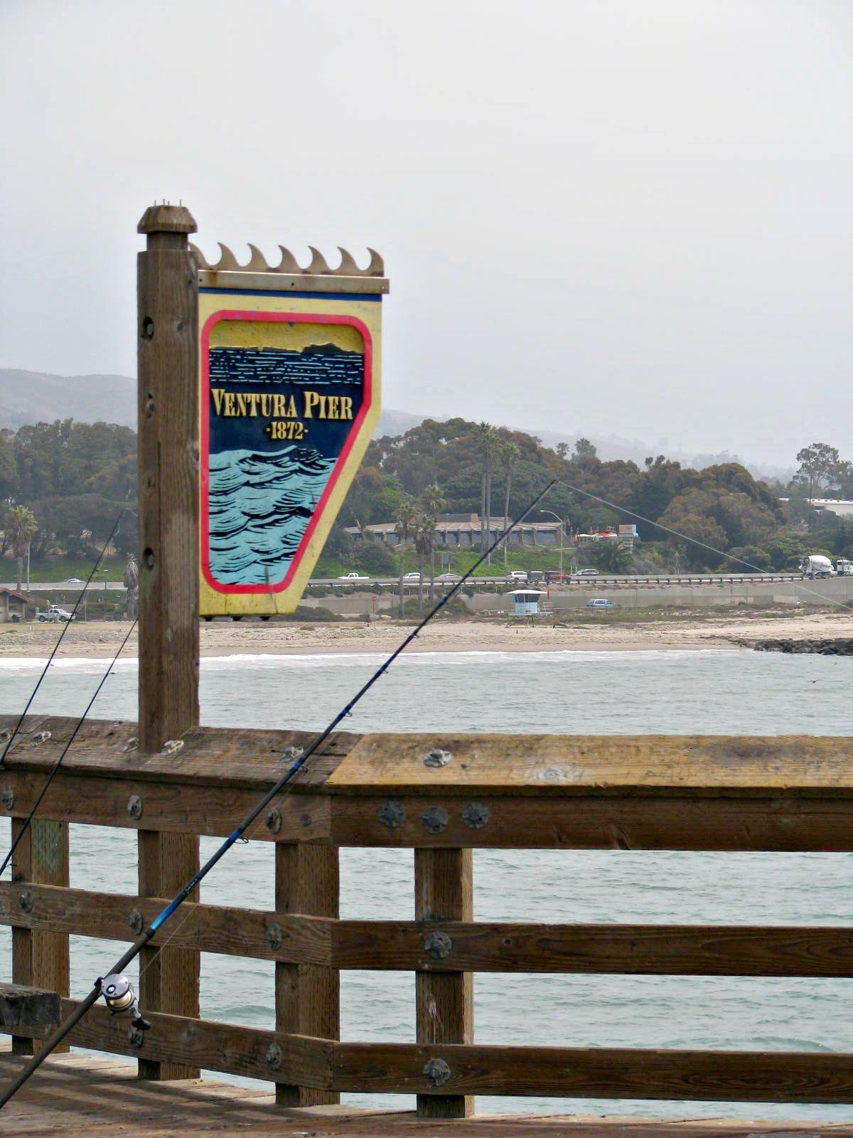 Beauty 4 ashes ventura pier for Ventura sport fishing