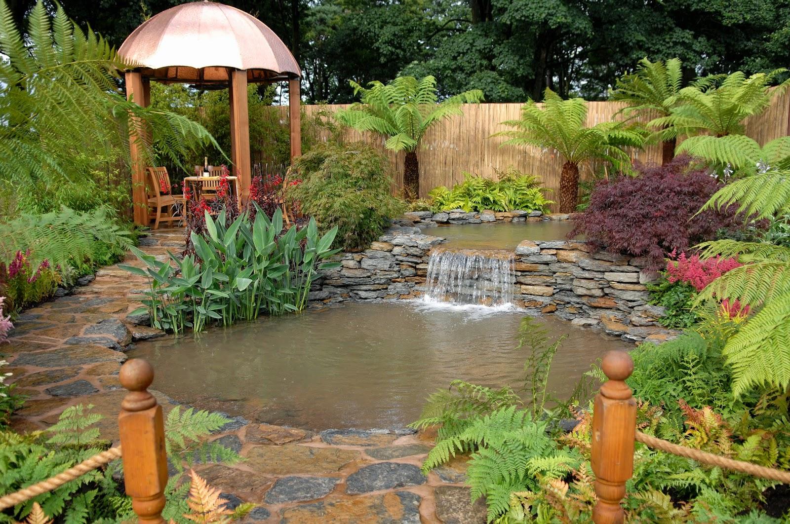arte y jardinerÍa : diseÑo de jardines. jardines con agua