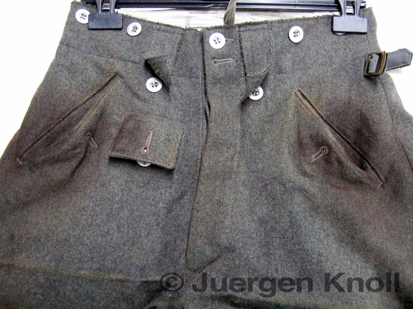 "Costume distressing for the TV mini-series ""Generation War ..."
