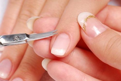 Ногти в стиле чикаго фото