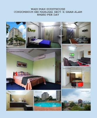Promosi, Wadi Iman Guesthouse, Homestay, Shah Alam