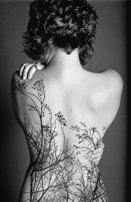 ♥ ♫ ♥ Dana Garden Back Tattoo for Girls ♥ ♫ ♥