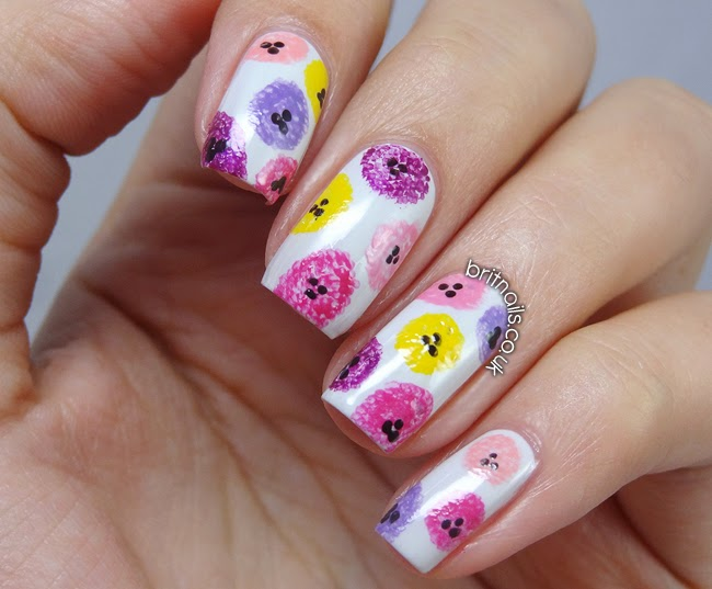 Floral buttons nicole by opi selena gomez nail art and swatches floral buttons nicole by opi selena gomez nail art and swatches prinsesfo Image collections