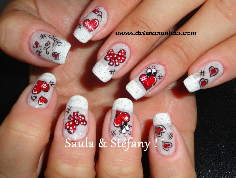 Blogger brunaefelliphe 39 39 eu amo unhas for Gradas decoradas