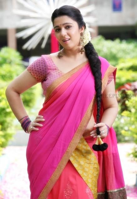 Charmi-kaur-half-saree-pic