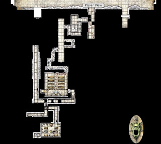 tomb of horrors map pdf