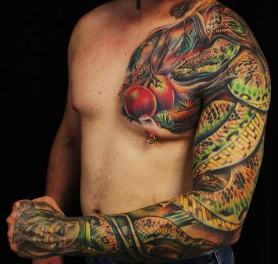 Paradise Snake Tattoo