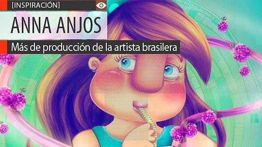 Ilustración, colorido y personajes de ANNA ANJOS