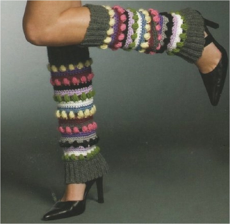 stripes leg warmers by mary jane hall i designed these leg warmers ...