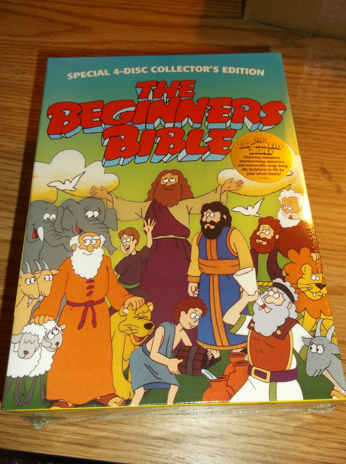 Missys Product Reviews The Beginners Bible 4 Disc DVD