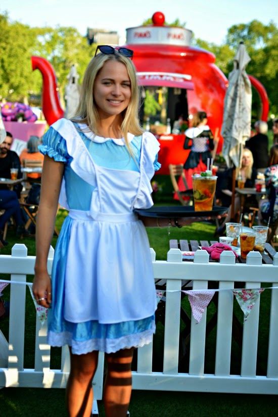 Chelsea in Bloom 2015 Mad Hatters Tea Party Pimms
