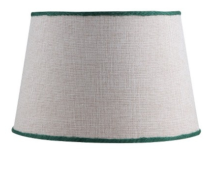 how to clean a white lampshade