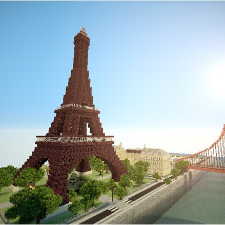 Minecraft Inspired Art