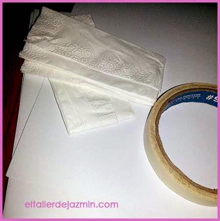 imprimir en servilleta de papel para decoupage