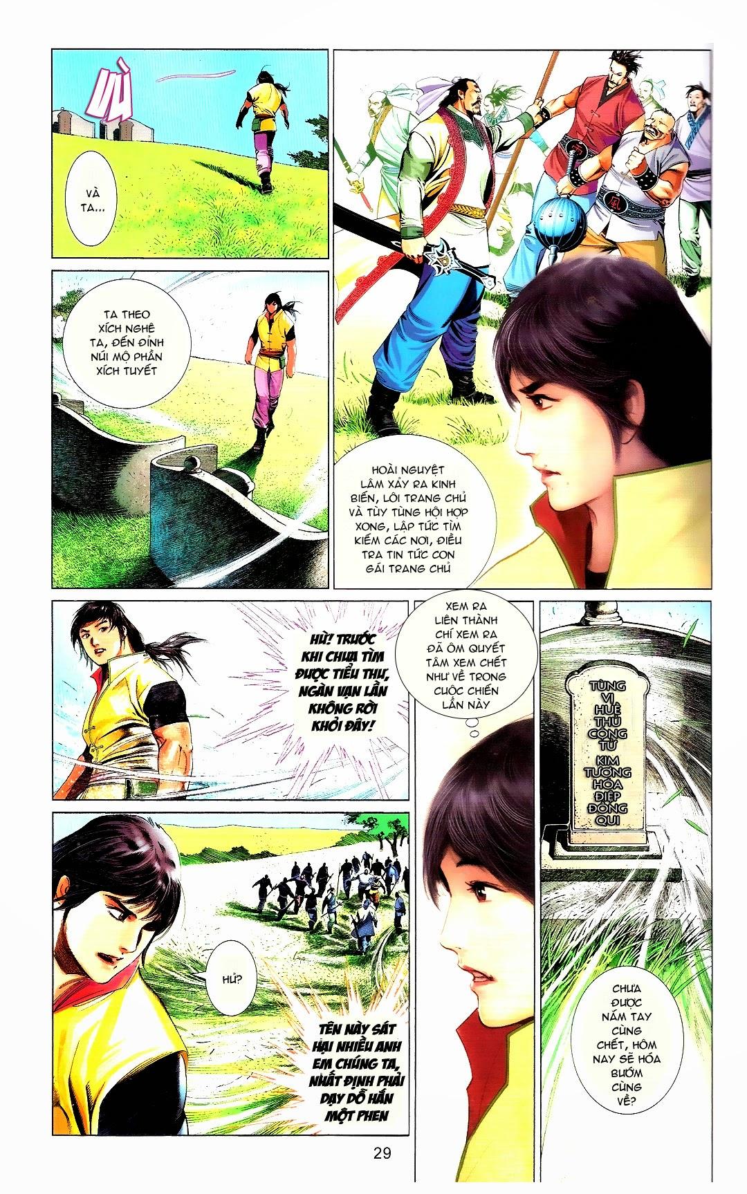 Phong Vân chap 666 Trang 29 - Mangak.info