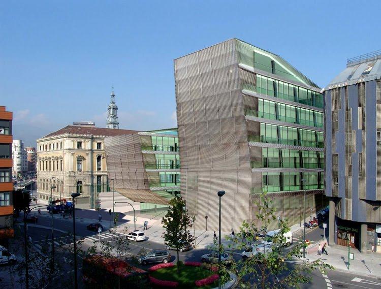 Arquitectura en espa a ampliaci n del ayuntamiento de - Estudios arquitectura bilbao ...