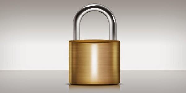 Lock Icon PSD