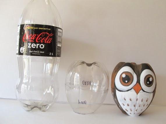 Fai da te con bottiglie di plastica