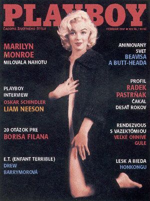 Playboy Magazine Marilyn Monroe December 2005